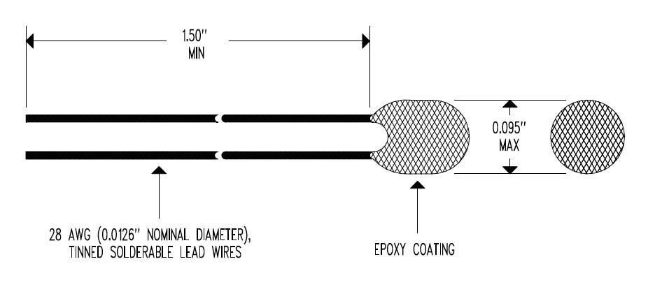 EBL Epoxy Body Dimensional Drawing