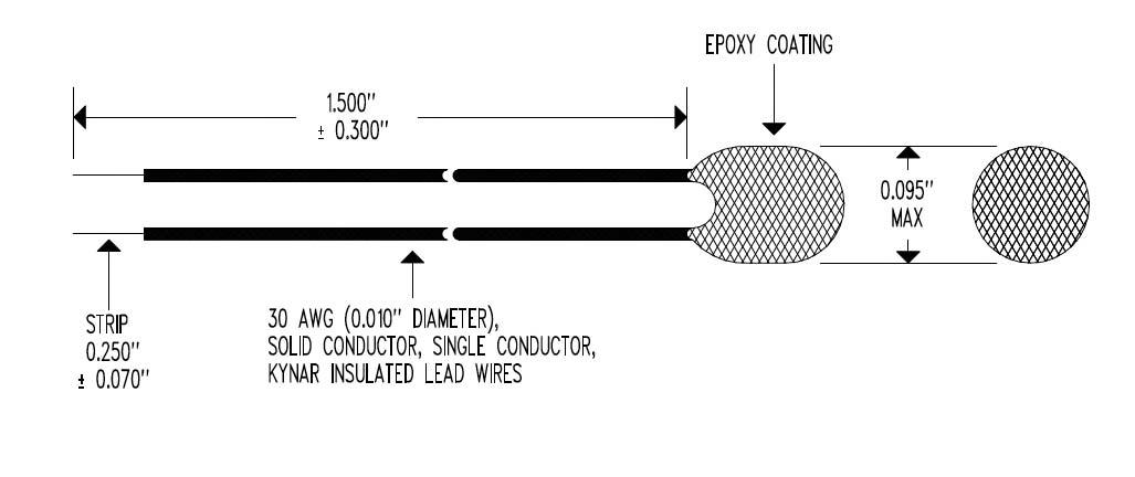 EPT2 Epoxy Body Dimensional Drawing