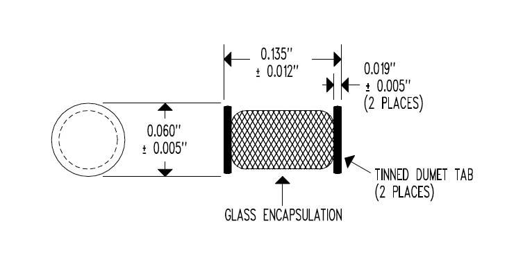 EPT4 Surface Mount Interchangeable MELF