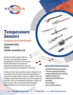 Temperature Sensors flyer
